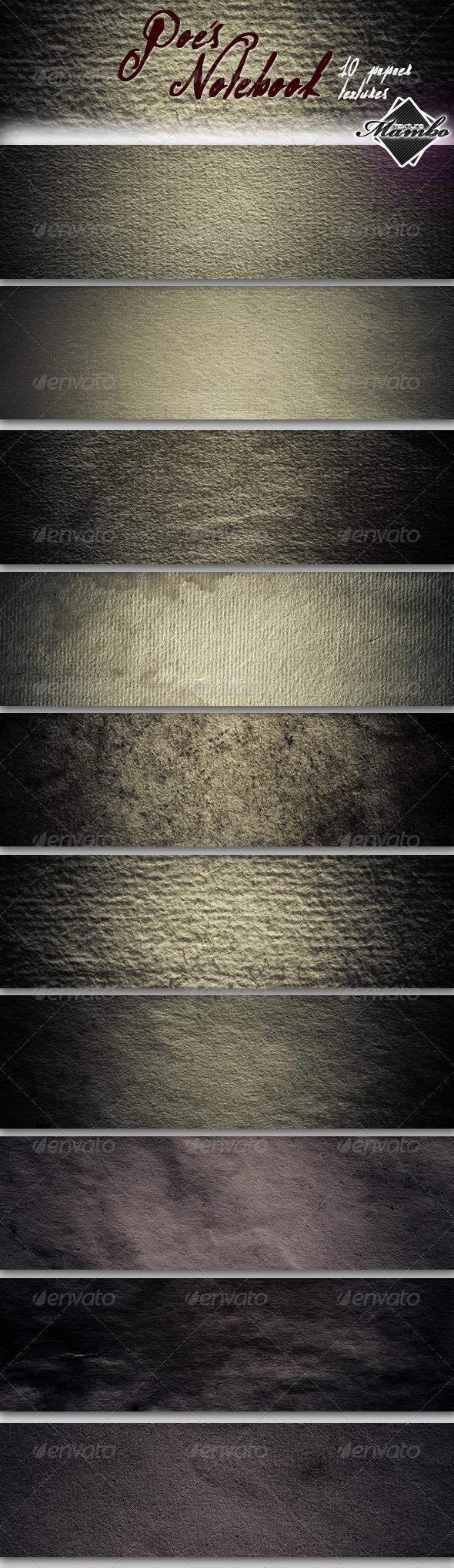 Poe's Notebook - Paper textures - Paper Textures