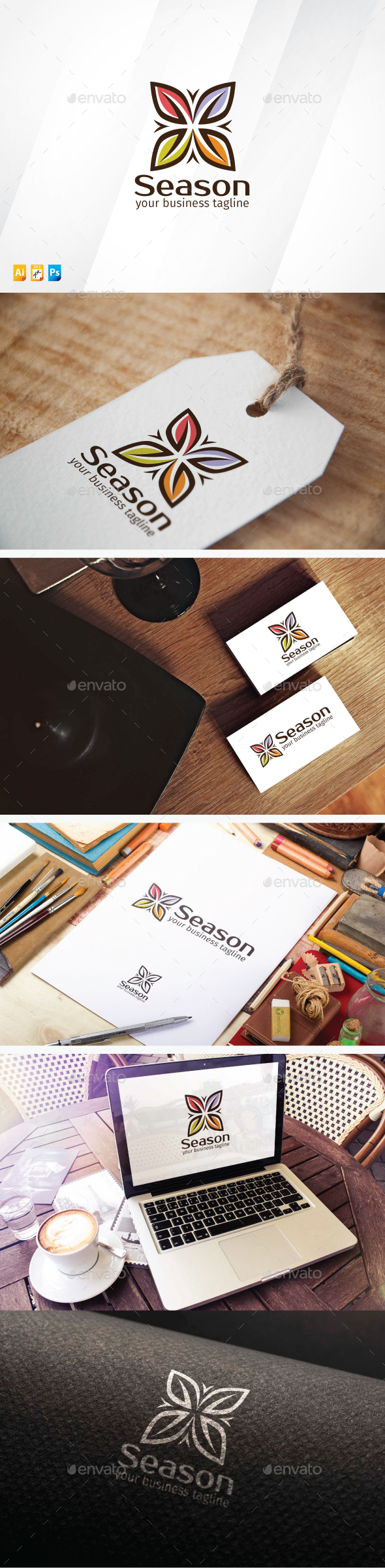 Season Logo - Nature Logo Templates