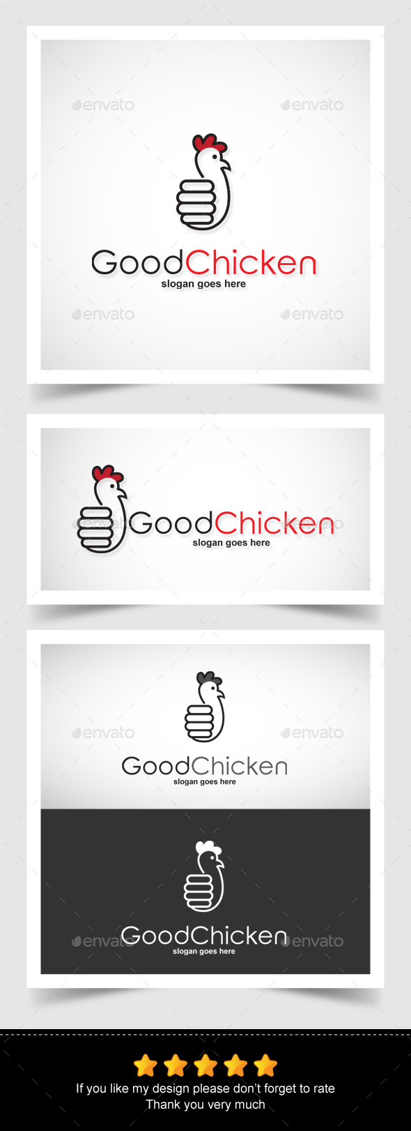 Good Chicken Logo - Animals Logo Templates