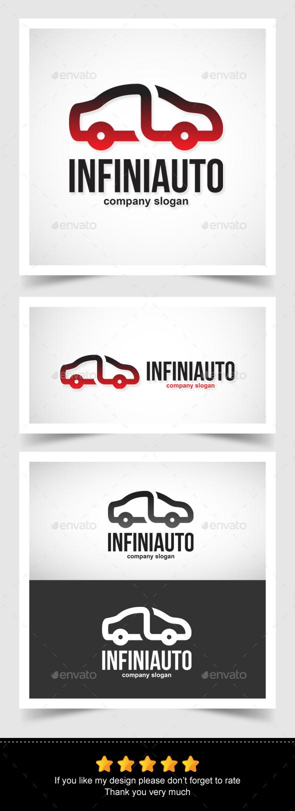Infinity Auto Logo - Symbols Logo Templates
