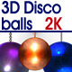 3D Disco Balls Pack - VideoHive Item for Sale