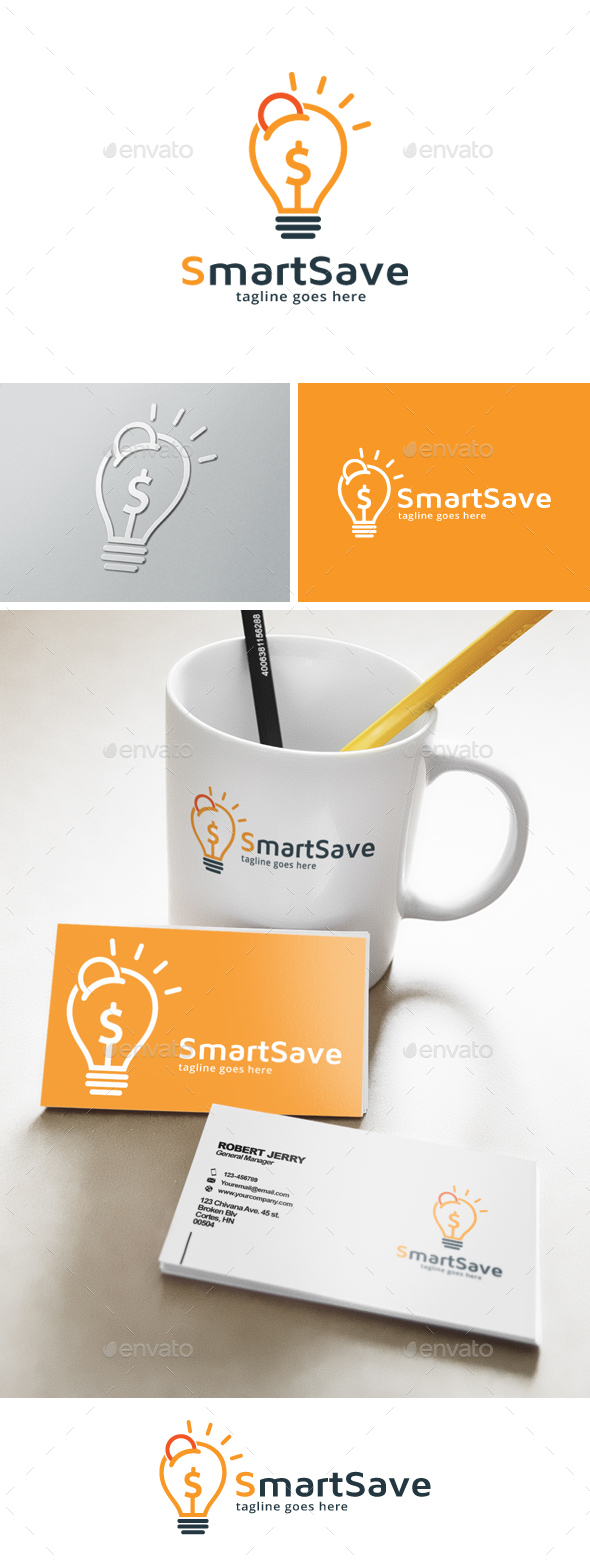 Smart Save Money Logo - Objects Logo Templates