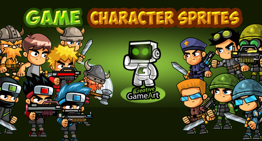 Game Character Sprites