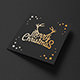 Square Greeting Card Mock-Up Foil Stamping Edition - GraphicRiver Item for Sale