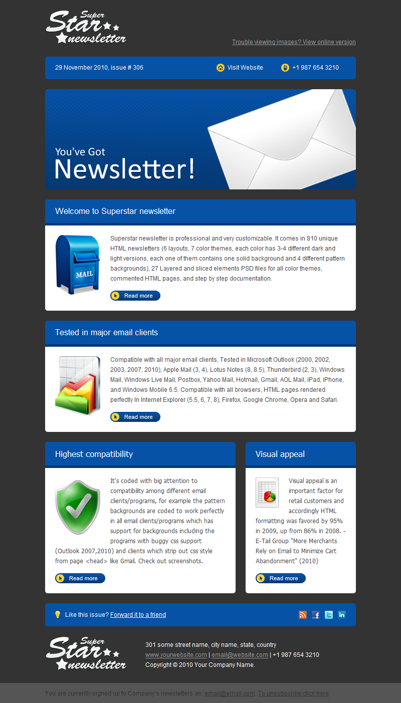 superstar newsletter by gifky themeforest