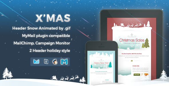 X'mas 2 | Responsive Email Template - 13
