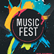 Music Fest Flyer V2 - GraphicRiver Item for Sale