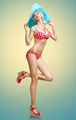 Swimsuit. PinUp