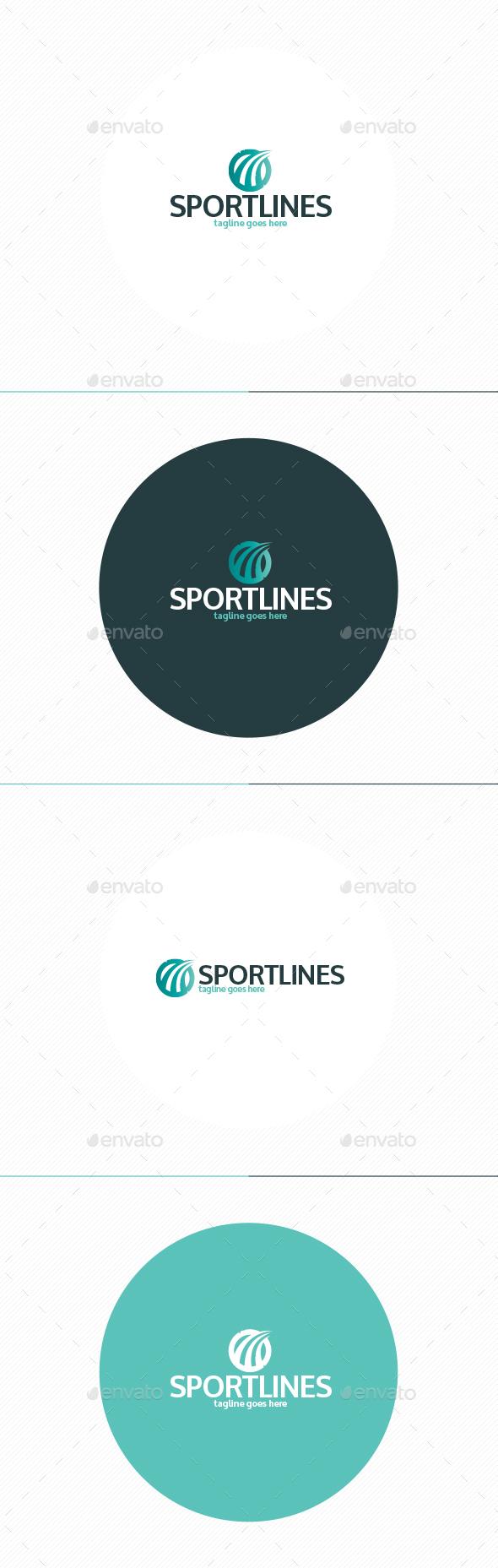 Sport Lines Logo - Symbols Logo Templates