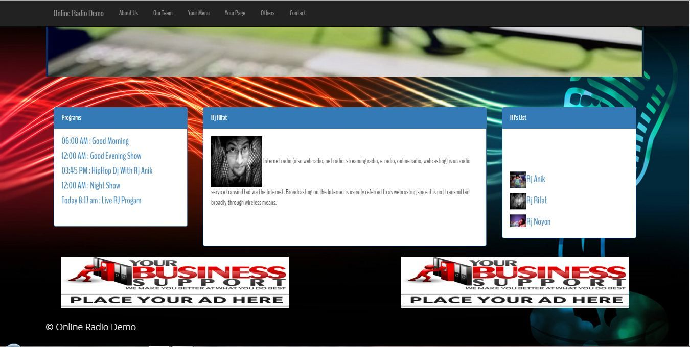 Streamo - Online Radio And Tv Streaming CMS by rifat636 | CodeCanyon