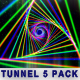 Tunnel Creative Vj Abstract Background (5 Pack) - VideoHive Item for Sale