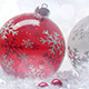 Christmas Balls - Red on White - VideoHive Item for Sale