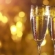 Champagne Glasses Ready To Bring In The New Year. - VideoHive Item for Sale