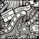 2 Cinema Doodles Graphics Seamless Patterns - GraphicRiver Item for Sale