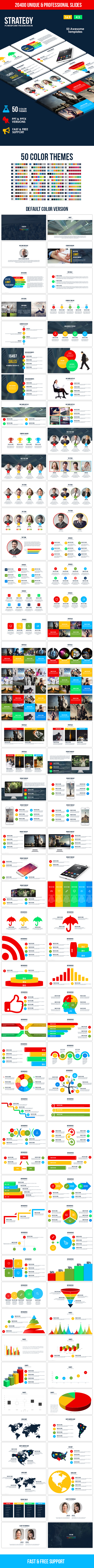 Strategy PowerPoint Template - Business PowerPoint Templates
