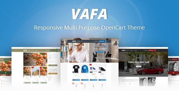 VAFA – Responsive Multi Purpose OpenCart Theme