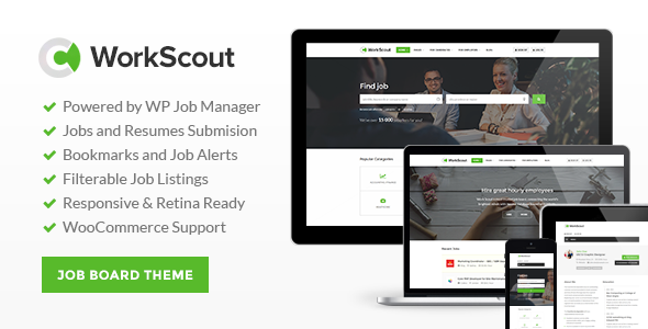 WorkScout – Job Board WordPress Theme