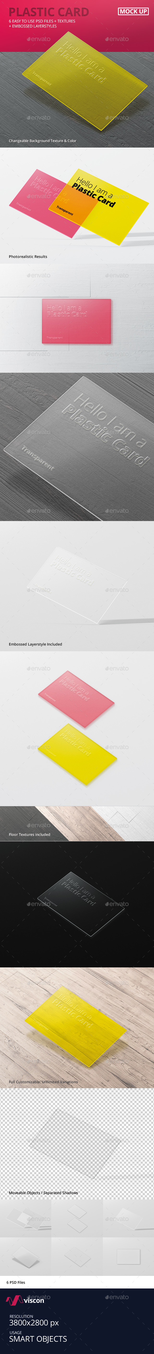 Transparent Business Card Mock-Ups - Business Cards Print