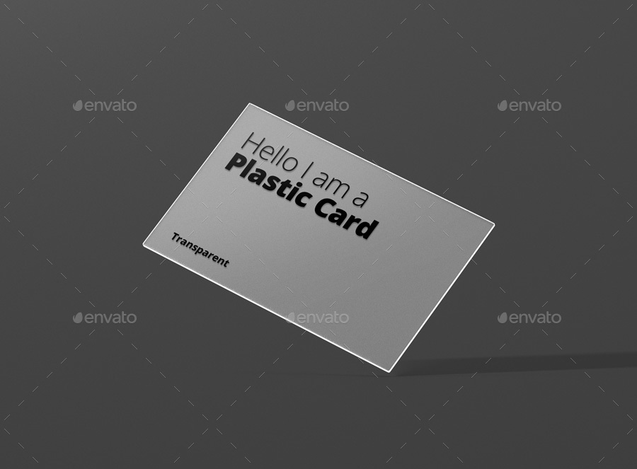 Transparent Business Card Mock-Ups by visconbiz | GraphicRiver