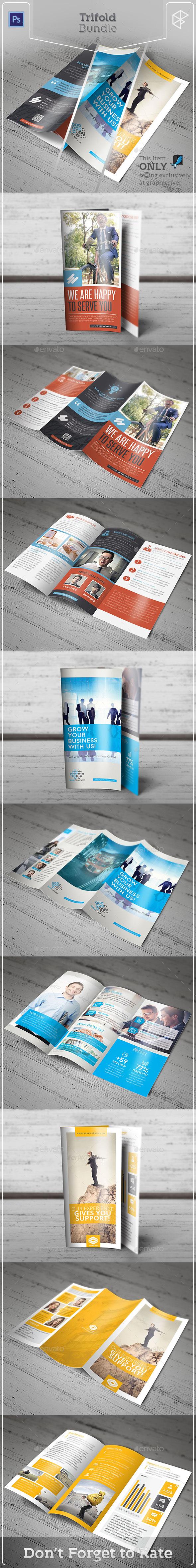 Trifold Bundle 6 - Corporate Brochures