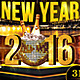 Happy New Year Poster/Flyer - GraphicRiver Item for Sale