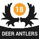 Deer Antlers - GraphicRiver Item for Sale