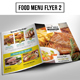 Food Menu Flyer 2 - GraphicRiver Item for Sale