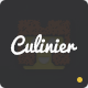 Culinier - Foods & Recipe Responsive Template Nulled