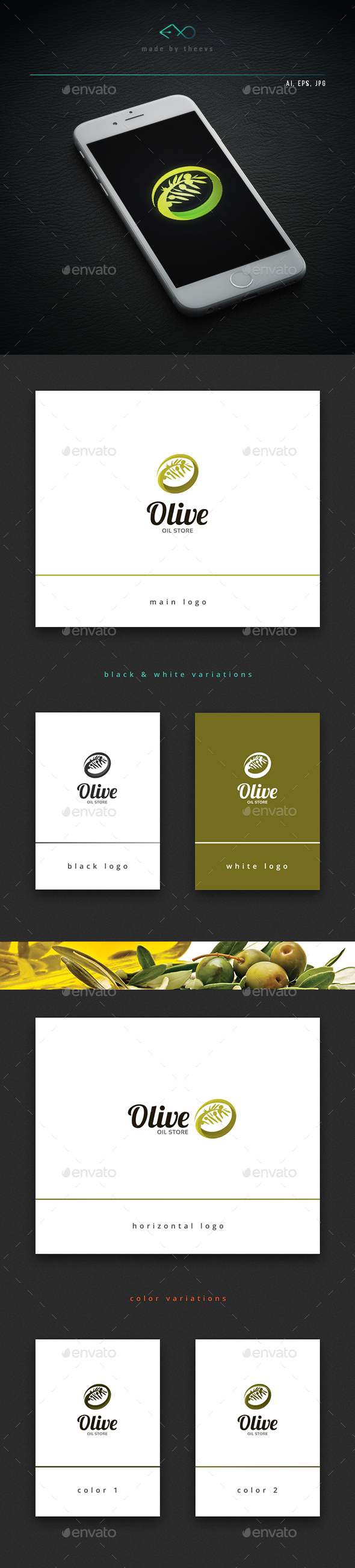 Olive - Letters Logo Templates