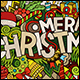 Merry Christmas Doodles Designs - GraphicRiver Item for Sale