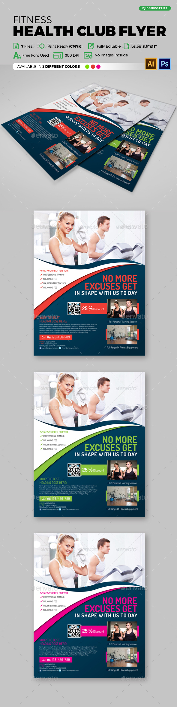 Multipurpose Business Flyer 86 - Flyers Print Templates