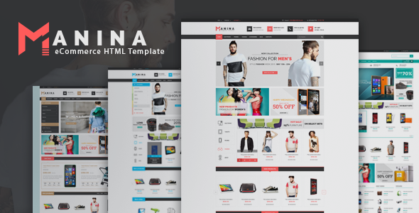 Manina - Multipurpose eCommerce HTML5 Template