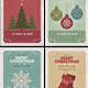 Vintage Christmas Cards - GraphicRiver Item for Sale