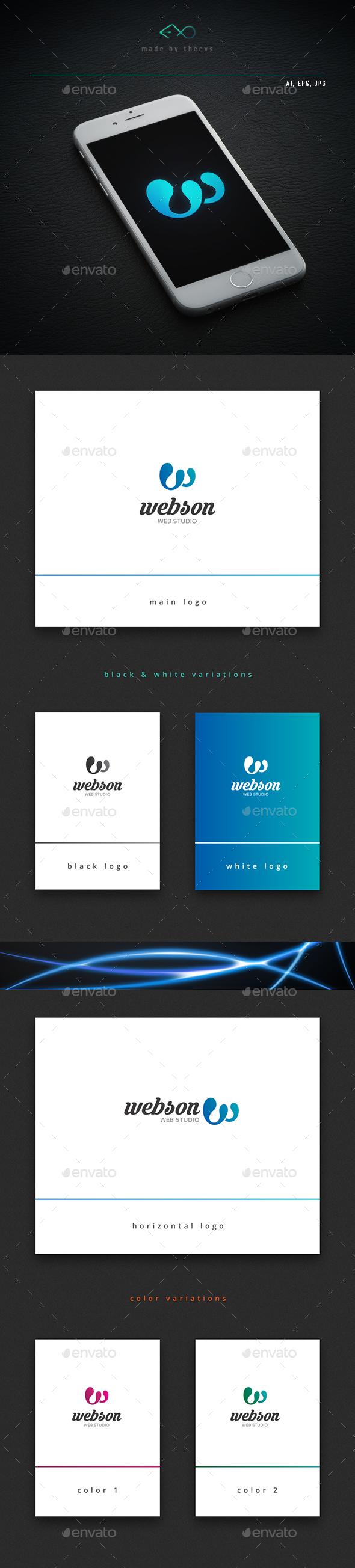 Webson - Letters Logo Templates