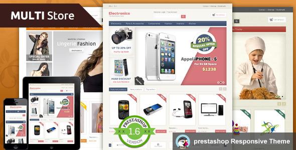 Multistore - Prestashop Responsive Theme - PrestaShop eCommerce