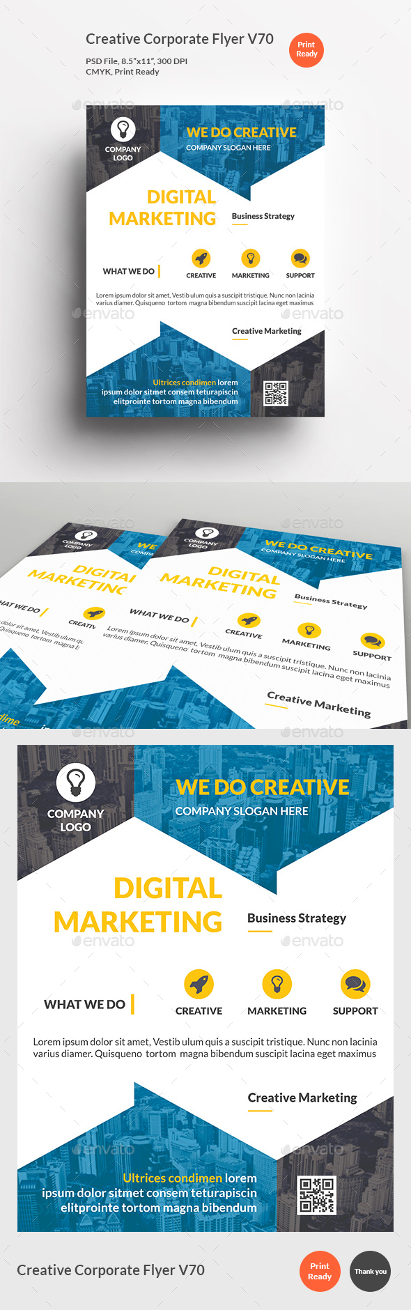Creative Corporate Flyer V70 - Corporate Flyers