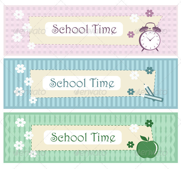 School Decorative Border Set - Borders Decorative
