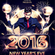 New Year's Eve Flyer - 2016 - GraphicRiver Item for Sale