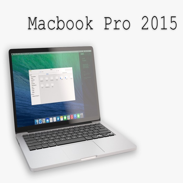 The New MacBook Pro 2015 - 3DOcean Item for Sale