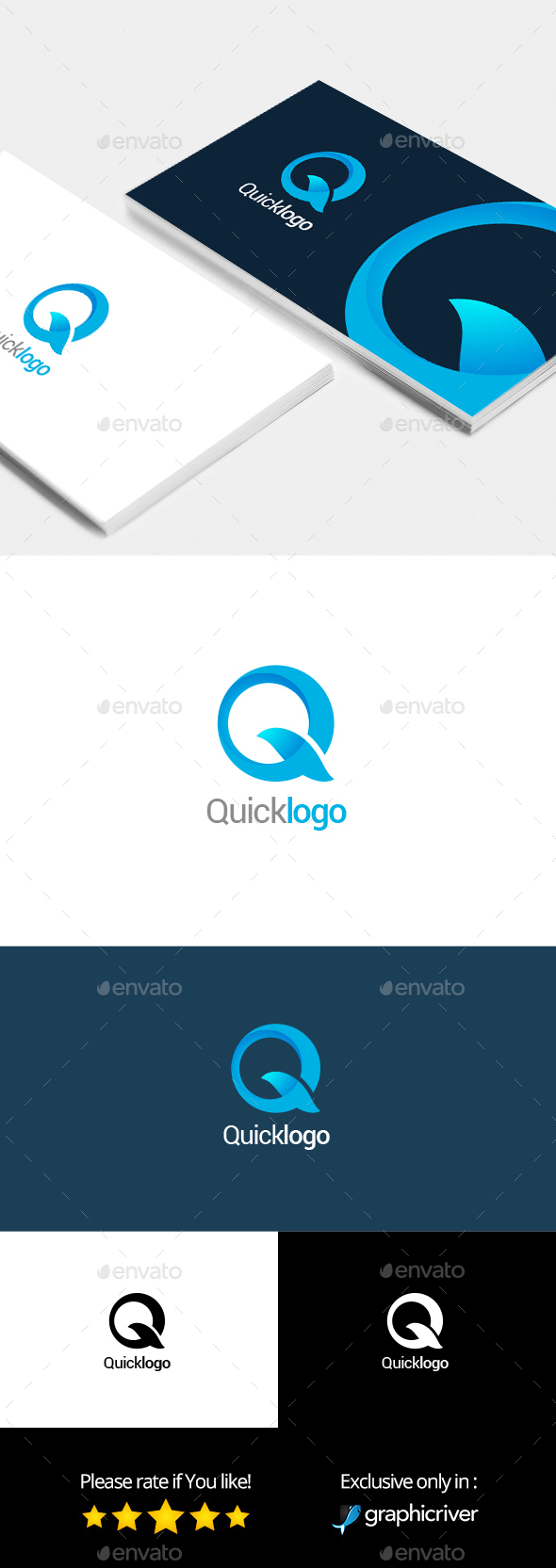 Quicklogo - Logo Template - Letters Logo Templates