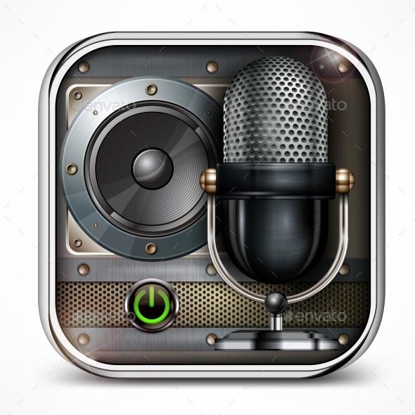 Sound Icon - Miscellaneous Vectors