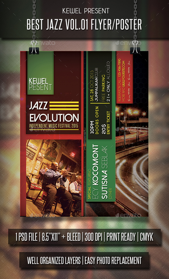 Jazz Flayer / Poster Vol.2 - Events Flyers