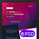 Corporate Flyer - 6 Multipurpose Business Templates vol 16 - GraphicRiver Item for Sale