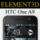Element3D - HTC One A9 - 3DOcean Item for Sale