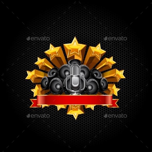 Poster Template - Decorative Symbols Decorative