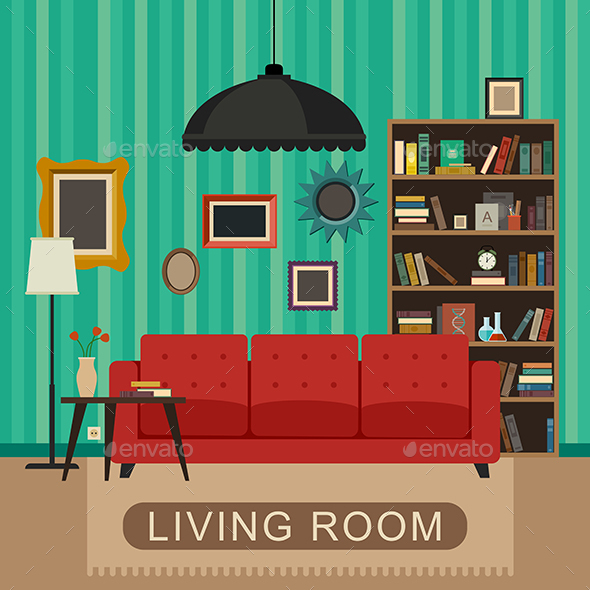 Living Room - Buildings Objects