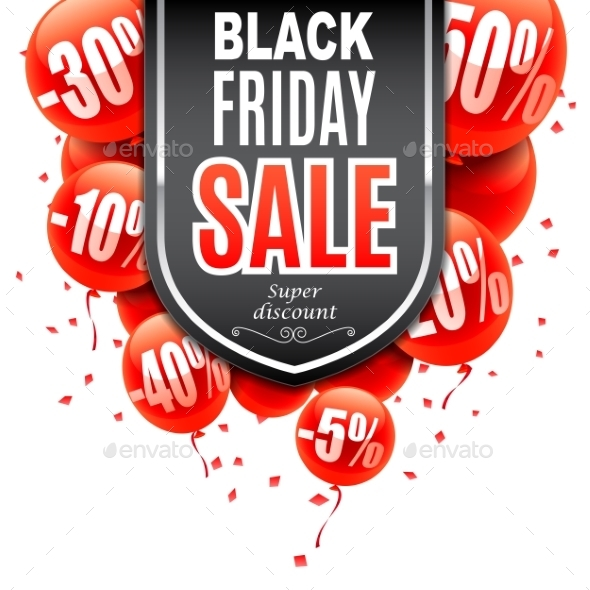 Black Friday Sale Banner - Retail Commercial / Shopping