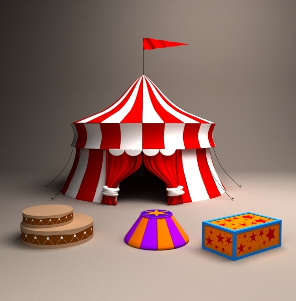 Circus - 3DOcean Item for Sale