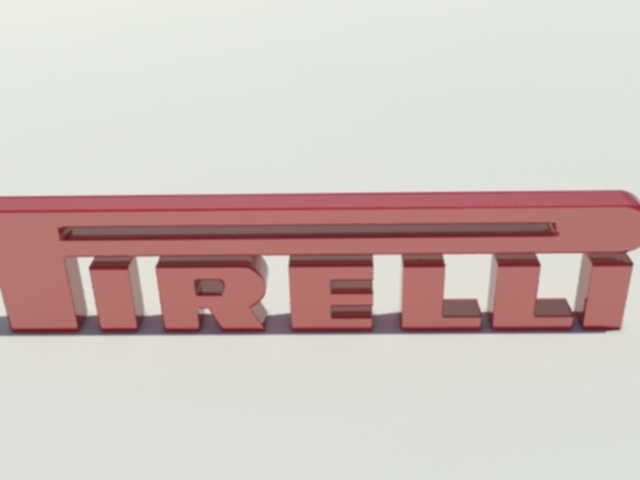 Pirelli Logo - 3DOcean Item for Sale