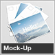 A6 Flyer / Postcard Mock-Up - GraphicRiver Item for Sale